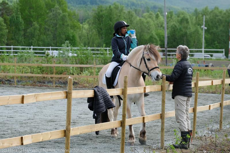 Dressurstevne arrangert av Midt-Troms Hestesportsklubb 7.-9. juni 2019