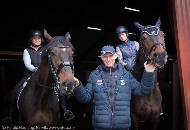 Lars Rasmussen, trening Narvik rideskole, 20-22. april 2018