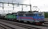 Green Cargo 1157 & 1269. Kiruna Central, Sweden, Fri 24 July 2015 - 1537.