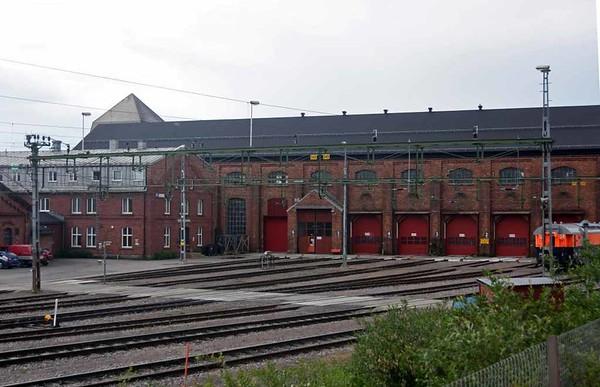 Kiruna loco shed, Sweden, Fri 24 July 2015 2