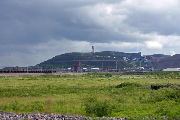Kiruna iron ore mine, Sweden, Fri 24 July 2015 1 - 1607.