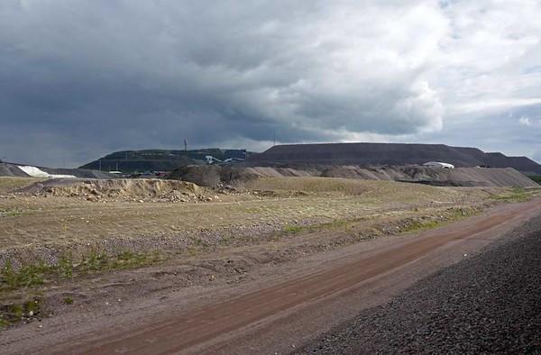 Kiruna iron ore mine, Sweden, Fri 24 July 2015 2