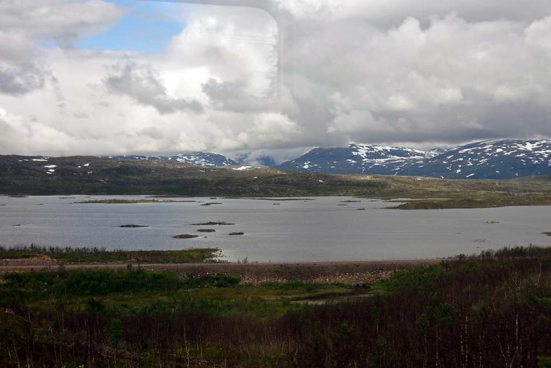 Swedish Lapland near Vassijaure, Fri 24 July 2015 - 1348.  Looking north about 45km from Narvik.