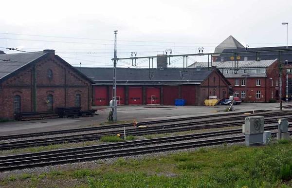 Former roundhouse, Kiruna. Sweden, Fri 24 July 2015