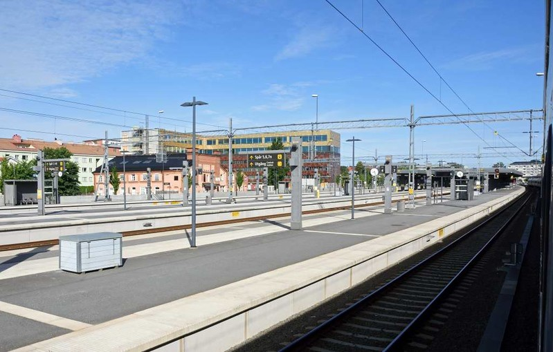 Uppsala Central, Sweden, Sat 25 July 2015 - 0829.