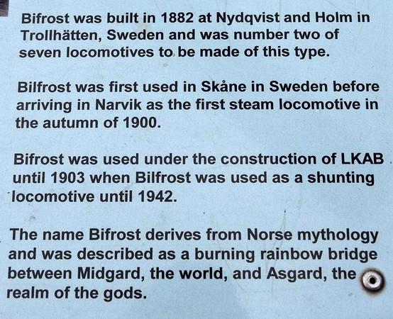 Bifrost, Narvik station. 23 July 2015 2