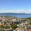 Sammensatt 180-graders panorama over Narvik. Originalfil 500 Mb med svært god oppløsning.