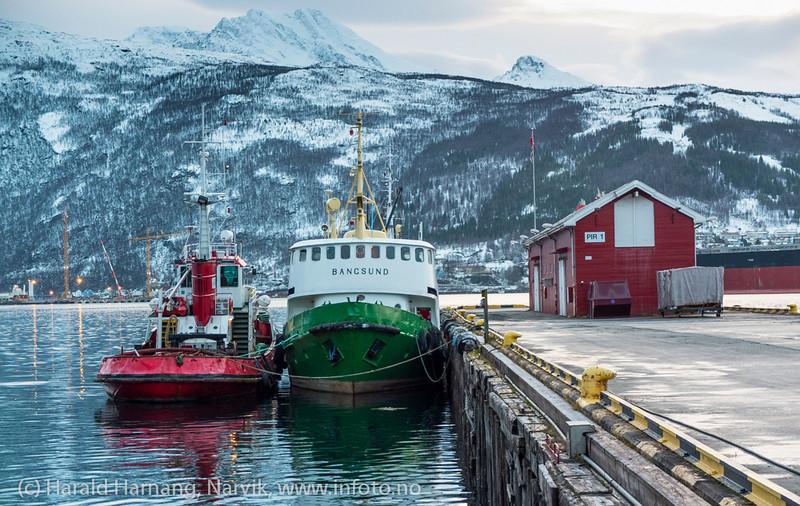 Narvik havn, slepebåter. november 2012.
