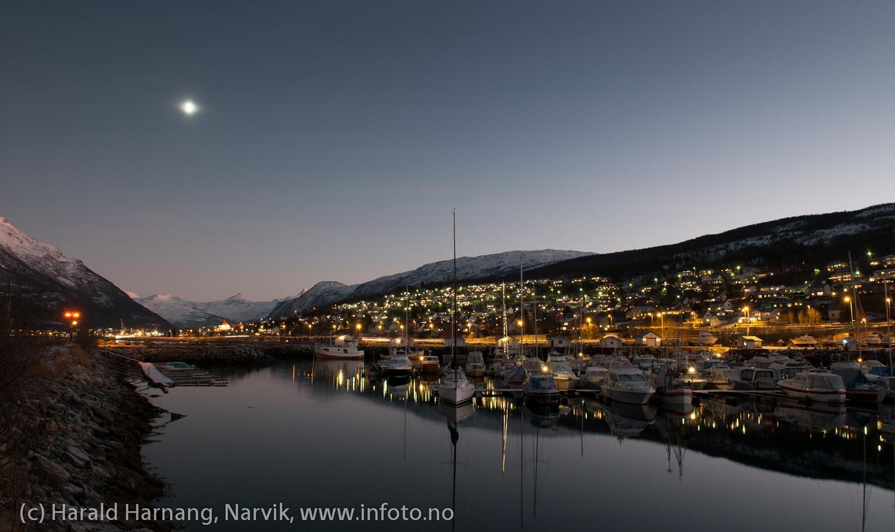 Båthavn, Ankenes. Årets mørkeste dag, 21. desember 2012