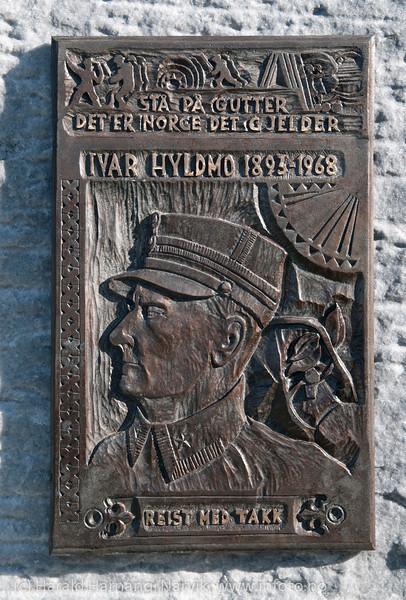 Krigsmonument - Major Hyldmo