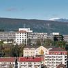 Narvik sykehus. Narvik sentrum, foto 19. september 2012.