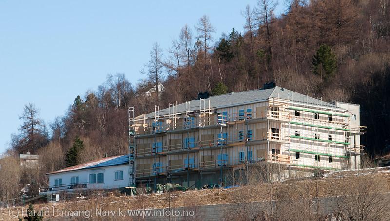 Nybygg administrasjon NSB, 15. april 2012