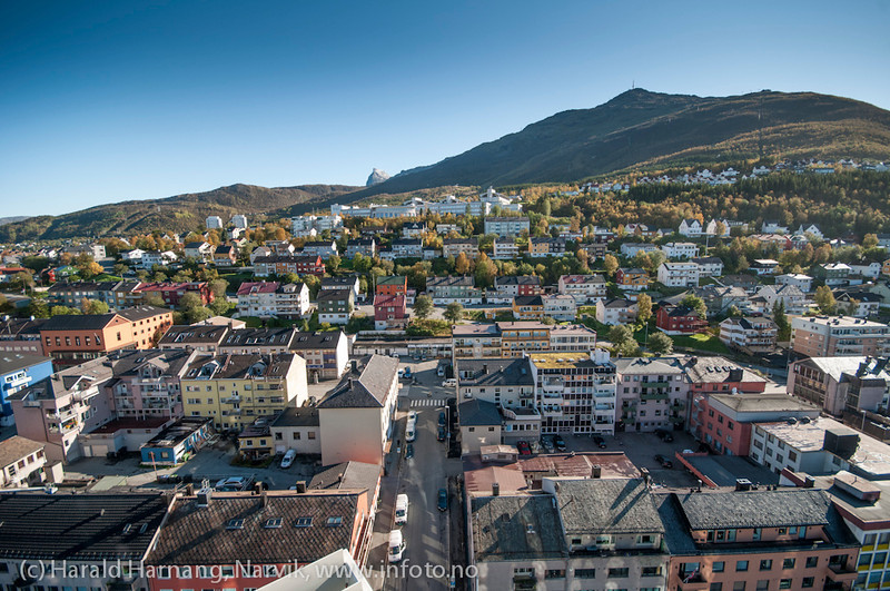 Narvik sentrum, foto 19. september 2012.