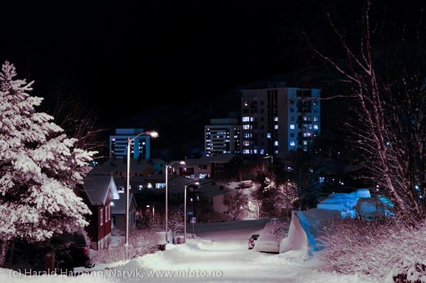 1. nyttårsdag 2011, øvre Oscarsborg, Narvik
