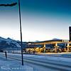 Desember 2009. Statoilstasjonen på Parkhalltaket. Sånn så det altså ut! Dengang.