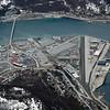 Fagernes godsterminal. Flyfoto fra april 2005.