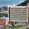 Narvik rådhus. Narvik sentrum, foto 19. september 2012.