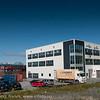 Innotech solar og andre selskaper, etter ombygging og påbygging av tidligere Nord-Norsk Diesel, Ornes, Teknlogiparken. Foto 6. juli 2011.