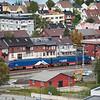 IORE 122 Råtsi på vei til Kiruna med tomme malmvogner.