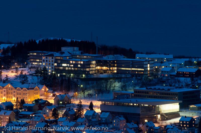 30.12.2011 Sykehushaugen med bl.a. Idrettens hus.