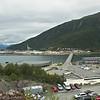 Beisfjordbrua mellom Ankenes og Fagernes. Til venstre industriområde.