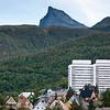 Tøttatoppen, Tøtta I og Tøtta II. Oversiktsbilde Narvik. August 2012.