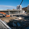 Nye Rema under bygging på tomta til gamle vannbassenget. sept 2012.