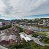 """Hele """"trekant-området"""" i Narvik, med LKABs anlegg."""