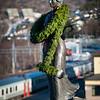 Svarta Bjørn, statue i Narvik ved jernbanestasjonen