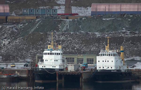 Slepebåter Narvik havn, LKABs anlegg