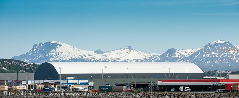 Northland ressourses anlegg på Fagernes, mai 2013.