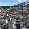Deler av Narvik. Utsikt fra Rica 16 etg.