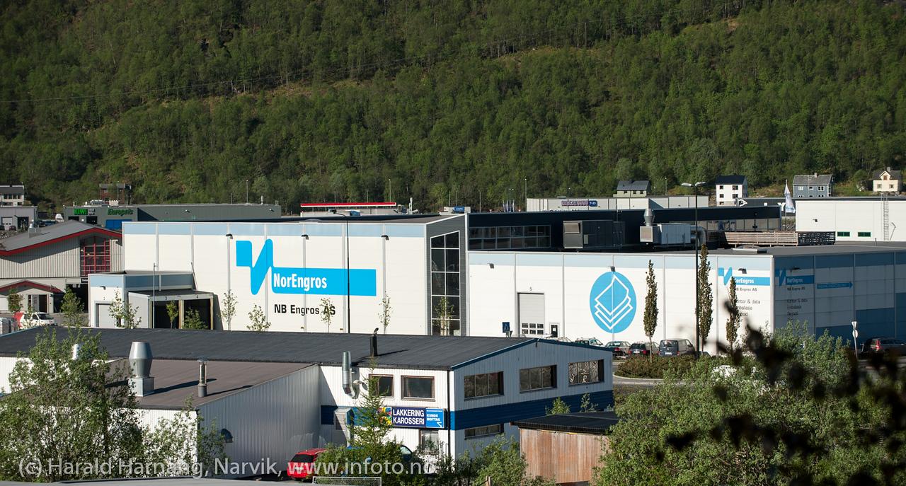 Nordengros på Fagernes. Mai 2013