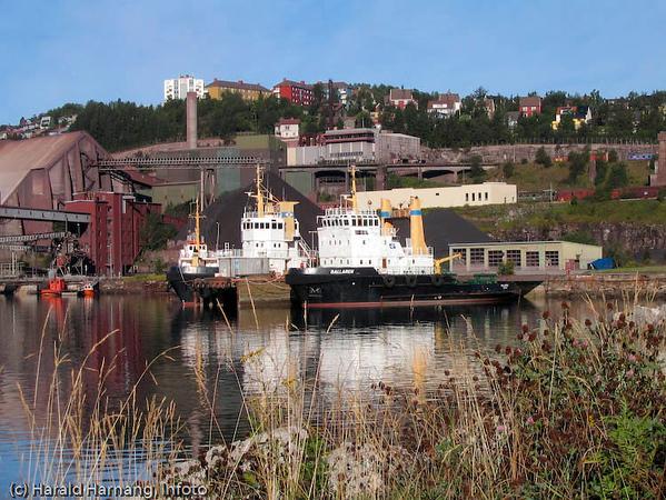 Slepebåter, LKABs anlegg i Narvik