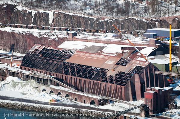 21. mars 2011. Lundbergsjakta er under utbedring. Foto fra Fjellheim.