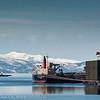 Malmbåt lastes, Narvik havn, 15. april 2012