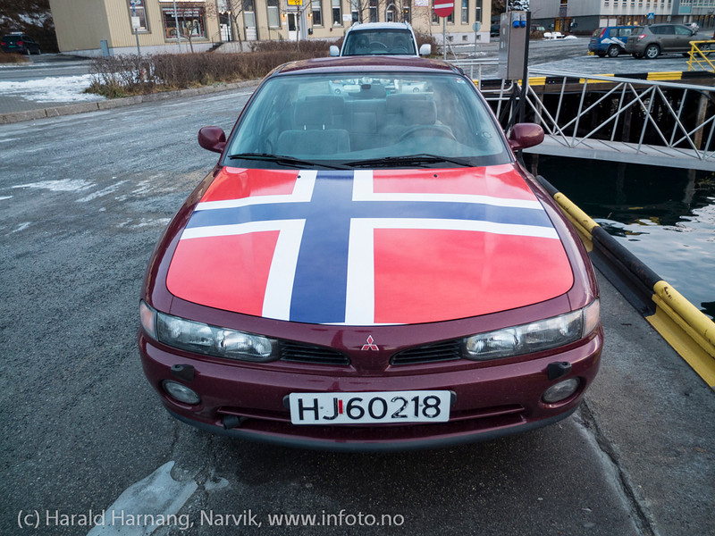 Patriot. Foto på Narvik havn, nov 2012.