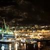 Første last fra Northland Resources fra midlertidig lasteanlegg på Fagernes. Lasting 12. feb 2013. Star Norita fra Grimstad (Ugland-rederi) laster 40.000 tonn jernmalm fra Kaunisvaara. Skal til Nederland. Skipet kom mandag 4. feb om morgenen. Det var beregnet 8-10 dager til lasting, men til sist dro man etter 21 dager med 55.000 tonn om bord.<br /> <br /> Star Norita left the Port of Narvik on Monday, February 25, 2013, loaded with approximately 55,000 tonnes iron ore concentrate. Picture during loading. Permanent loading facilities still under building (in front).
