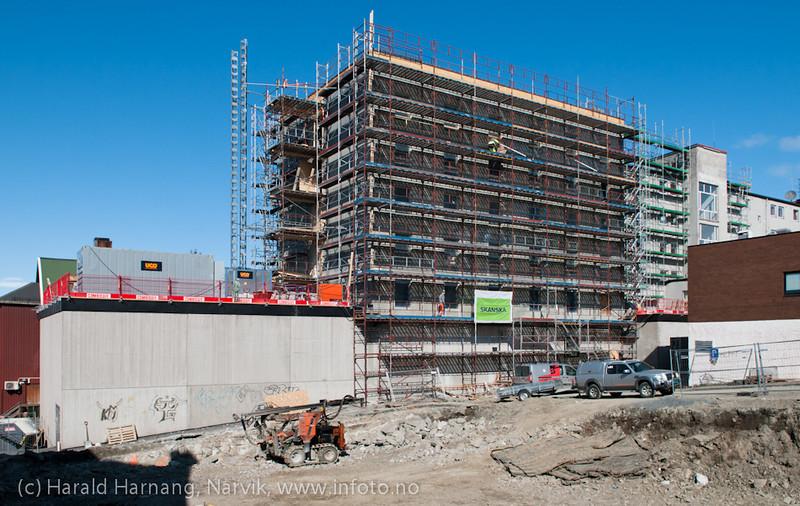 3. mai 2011: Grand under restaurering.