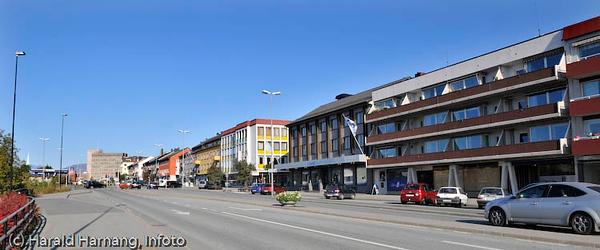 Narvik sentrum, nedre del