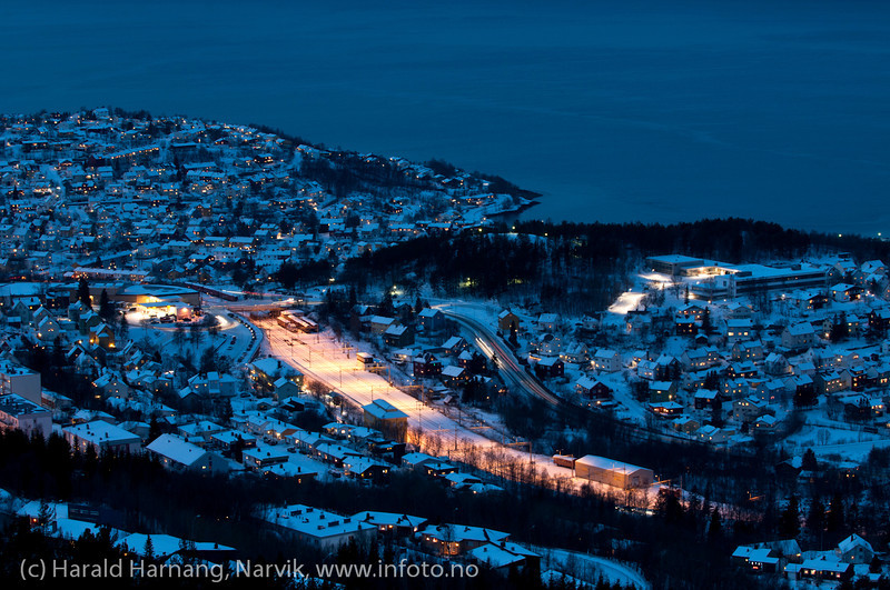 Deler av Narvik,