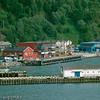 Deler av Narvik havn mot Fagernes. Tidligere handelsboder delvis omgjort til boligformål.