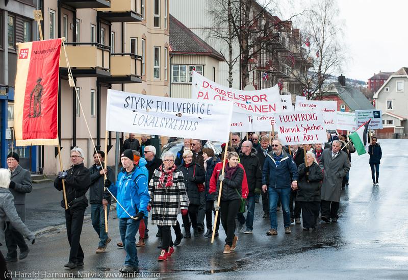 1. maitog, Narvik, 2014.