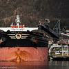 FALCON CONFIDENCE Liberia Cargo. Flagg: Liberia<br /> Bulk Carrier, DWT (dødvekttonn): 174350<br /> Lengde x bredde: 289m x 45.1m<br /> Byggeår: 2007. Lasting ved kai Northland, Narvik, 19. mai 2014.