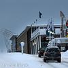 E6 nordover, Narvik storsenter, Grand til høyre, februar 2010