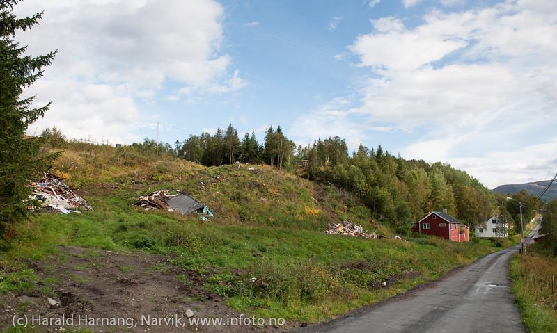 Hålogalandbrua, Øyjord 5. sept 2013
