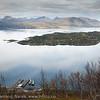 Øyjord og Ornes. Start bygging av bru over fjorden. Her kommer ei bru i 2017. Foto: 14. september 2013.