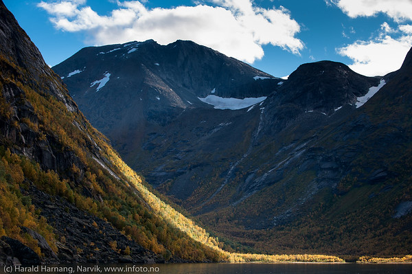 Skamdalsvatnet, Skamdalen, Beisfjord 24. september 2015