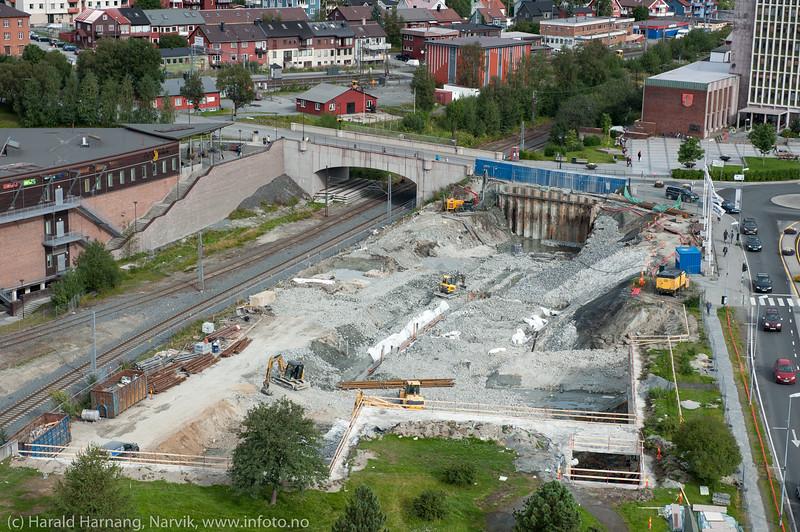 Det fjerde hjørnet, Narvik torg, august 2014.