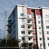 Toppen 1 får påmontert verandaer, sept 2012.